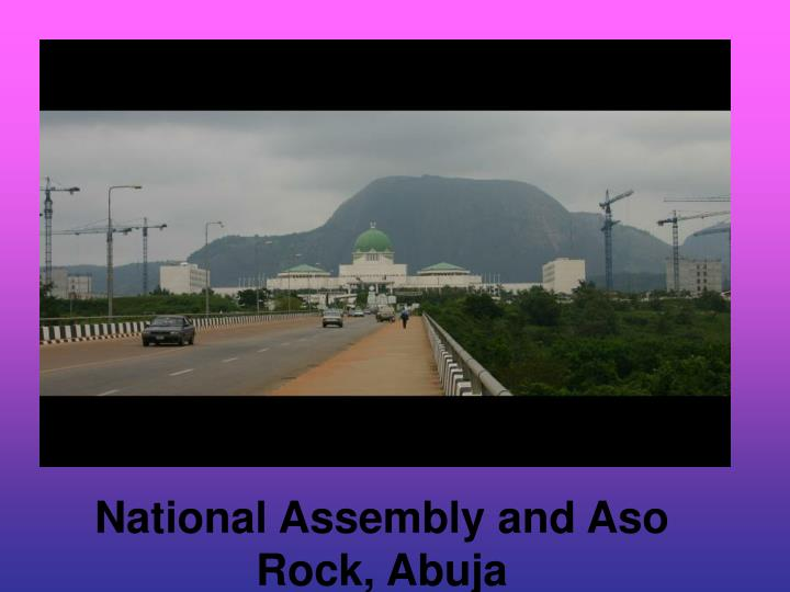 National assembly and aso rock abuja