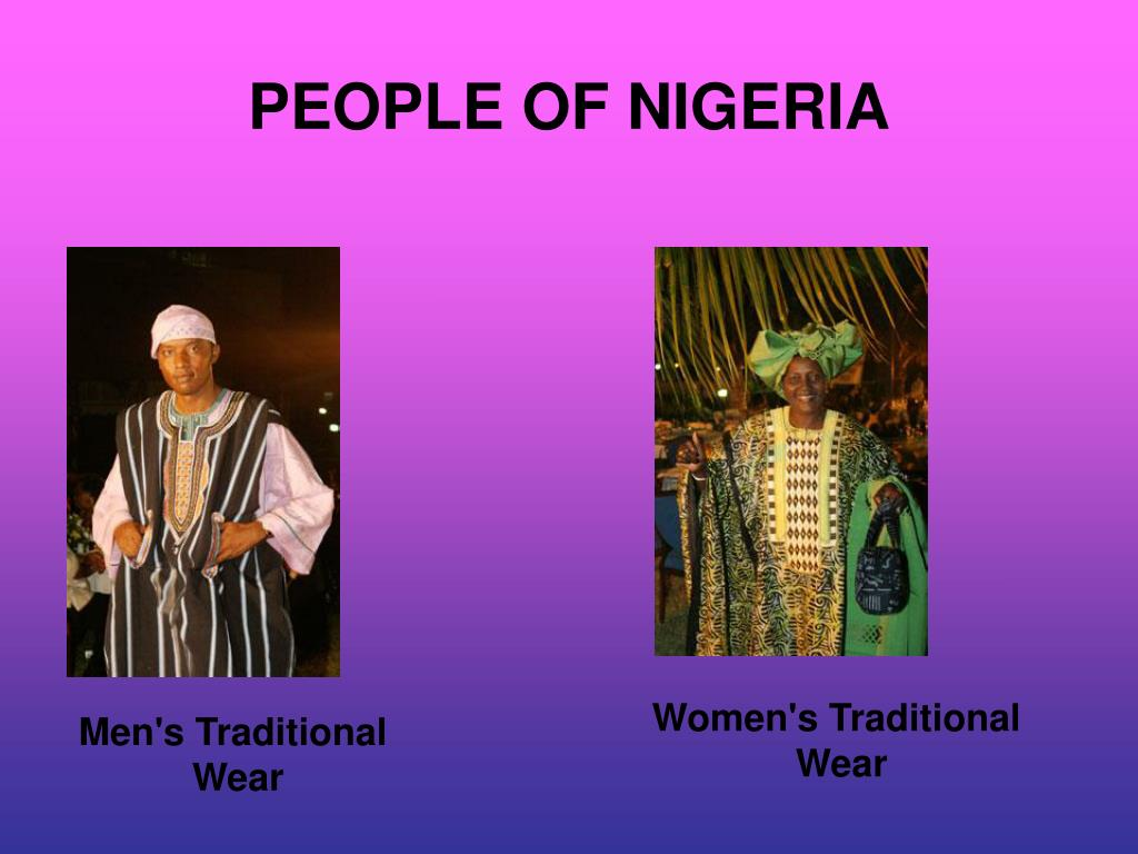 PEOPLE OF NIGERIA