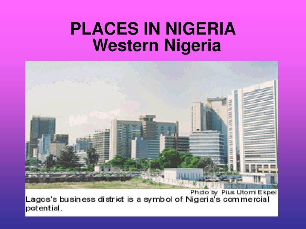 PLACES IN NIGERIA