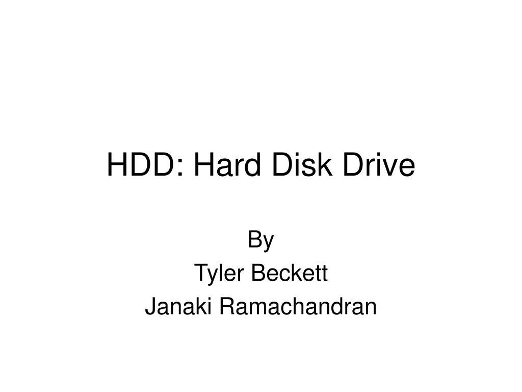 hdd hard disk drive l.