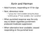 azrin and herman