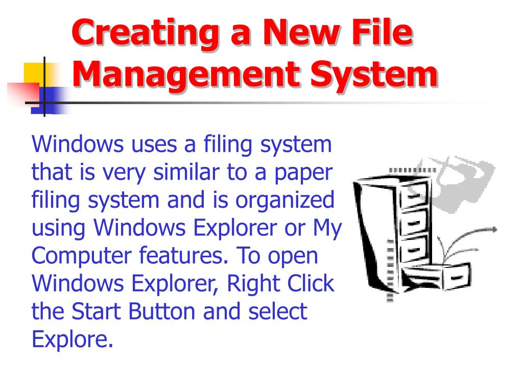 Creating a New File