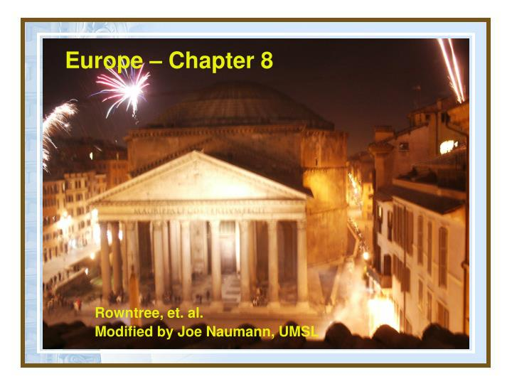 europe chapter 8 n.
