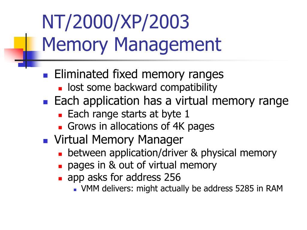 NT/2000/XP/2003