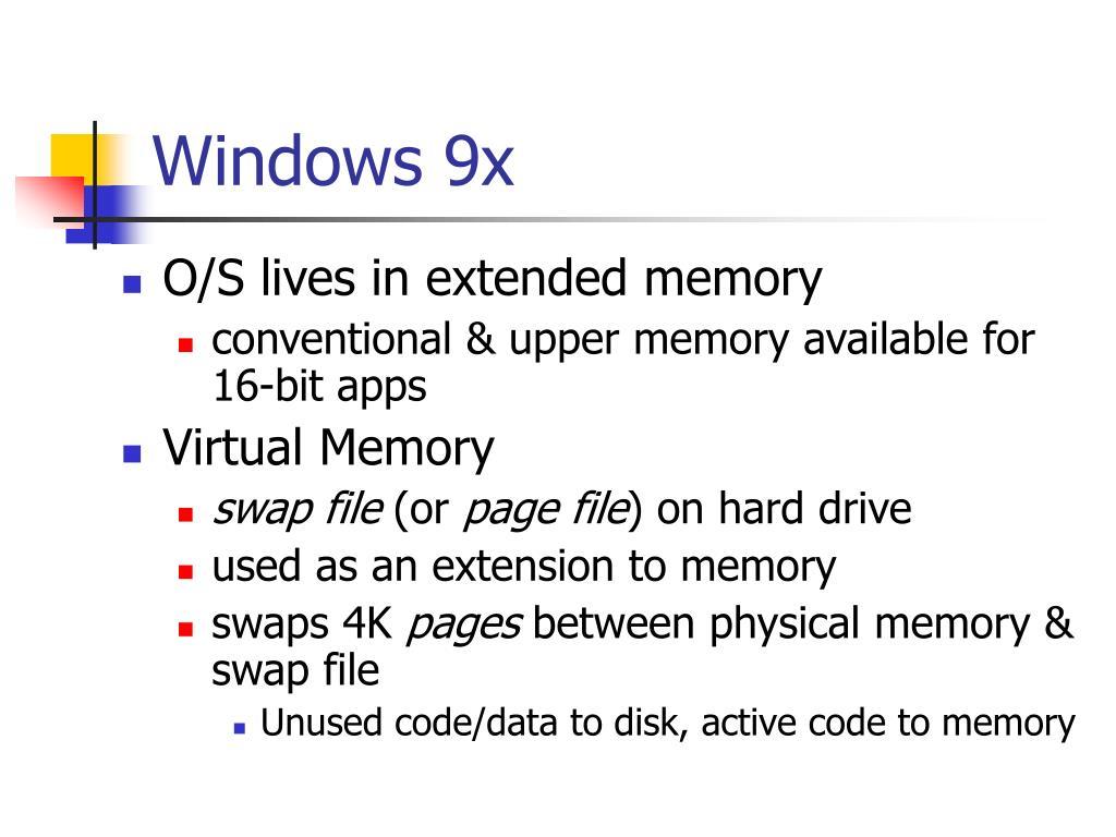 Windows 9x