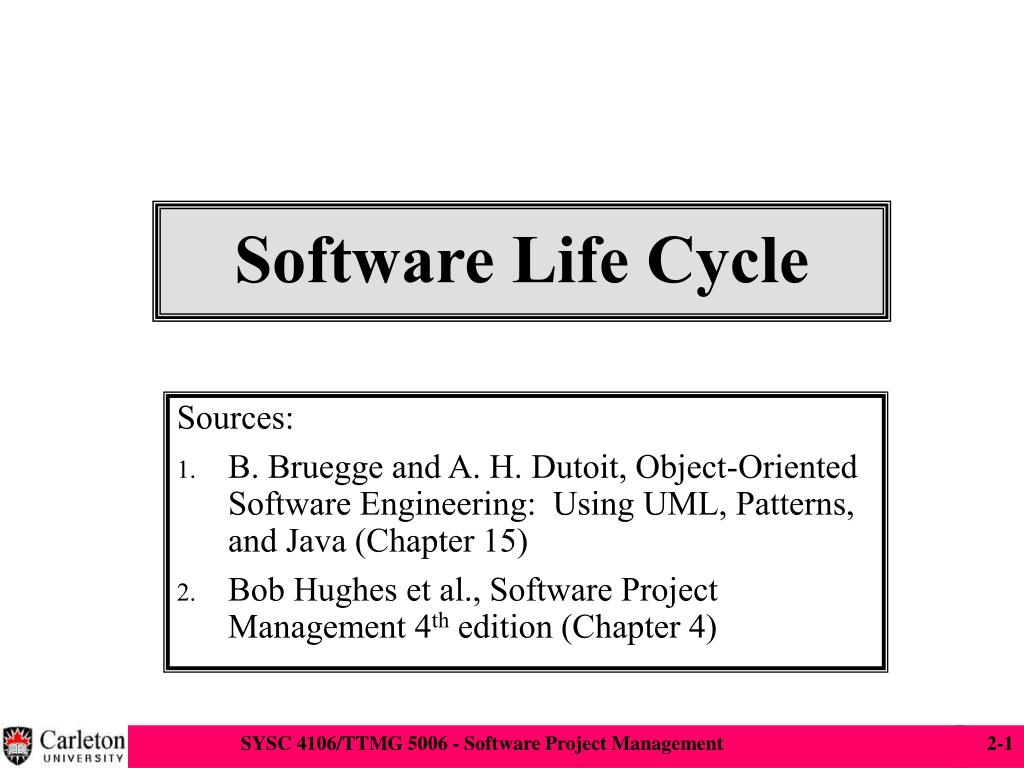 software life cycle l.