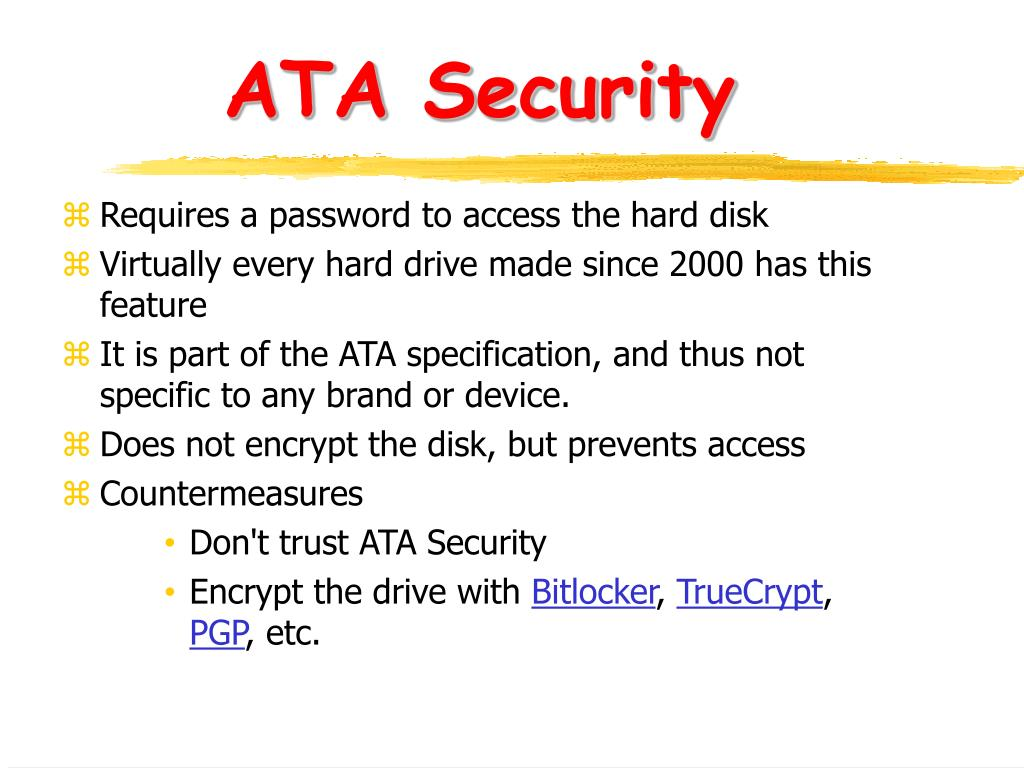 ATA Security