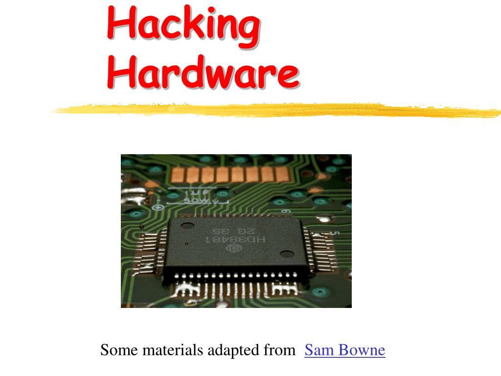 hacking hardware l.