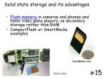 solid state storage and its advantages
