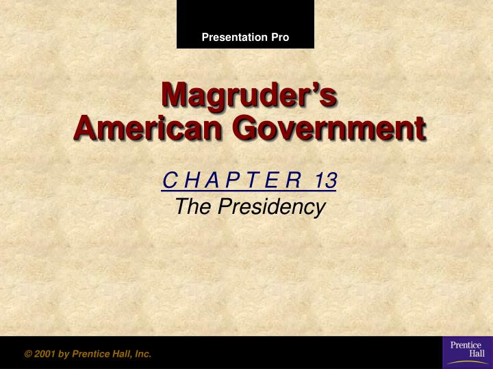 magruder s american government n.