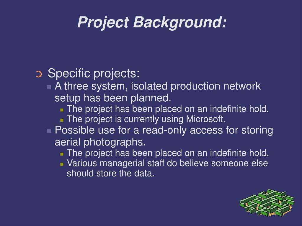 Project Background: