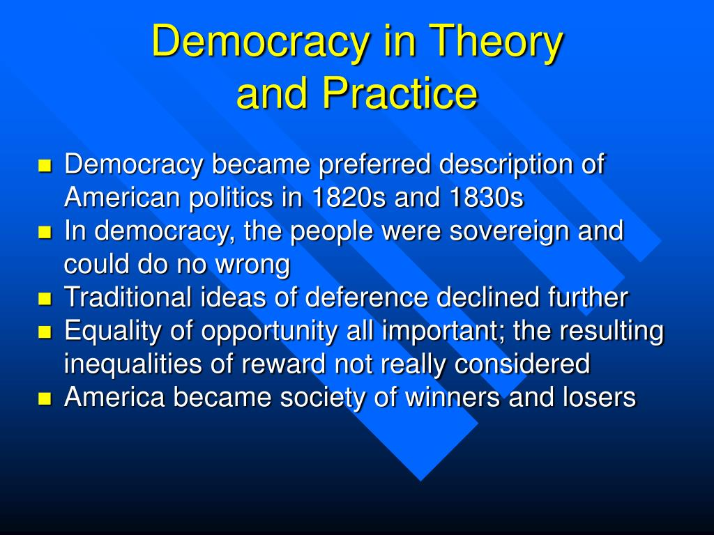 Democracy in Theory