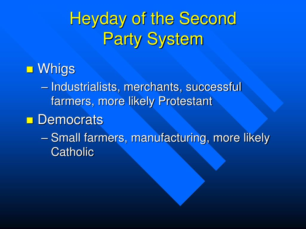 Heyday of the Second