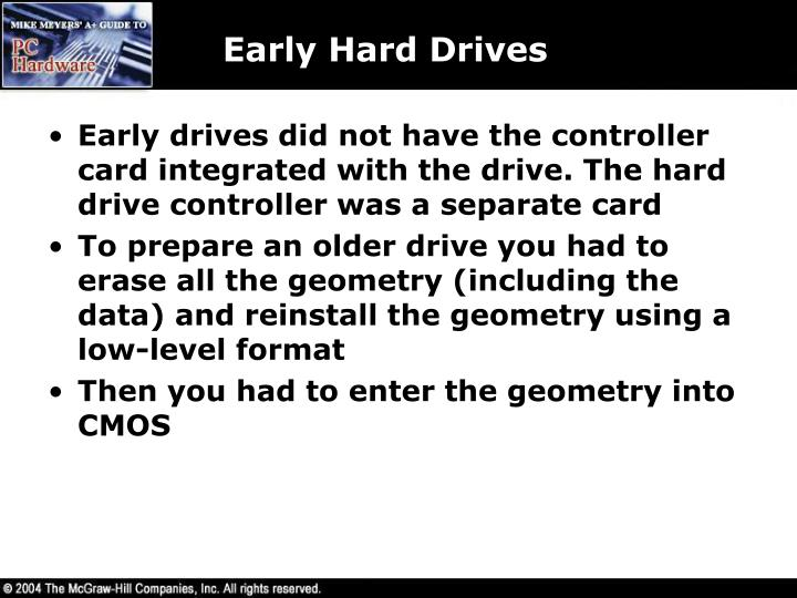 Early Hard Drives