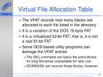 virtual file allocation table29