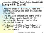 acquisition of affiliate s bonds in an open market contd example 8 8 contd125
