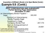 acquisition of affiliate s bonds in an open market contd example 8 8 contd131
