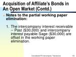 acquisition of affiliate s bonds in an open market contd132