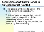 acquisition of affiliate s bonds in an open market contd133