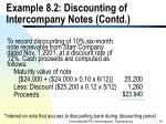 example 8 2 discounting of intercompany notes contd