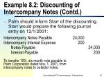 example 8 2 discounting of intercompany notes contd16