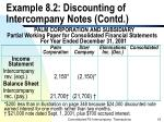 example 8 2 discounting of intercompany notes contd18