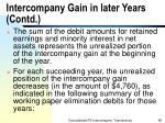 intercompany gain in later years contd85
