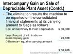 intercompany gain on sale of depreciable plant asset contd77