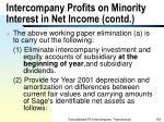 intercompany profits on minority interest in net income contd162