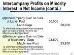 intercompany profits on minority interest in net income contd166