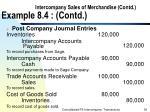 intercompany sales of merchandise contd example 8 4 contd39