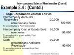 intercompany sales of merchandise contd example 8 4 contd40
