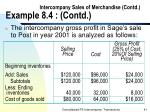 intercompany sales of merchandise contd example 8 4 contd41