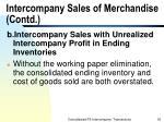 intercompany sales of merchandise contd35