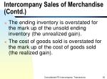 intercompany sales of merchandise contd36