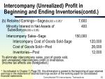 intercompany unrealized profit in beginning and ending inventories contd53