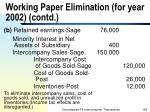 working paper elimination for year 2002 contd192