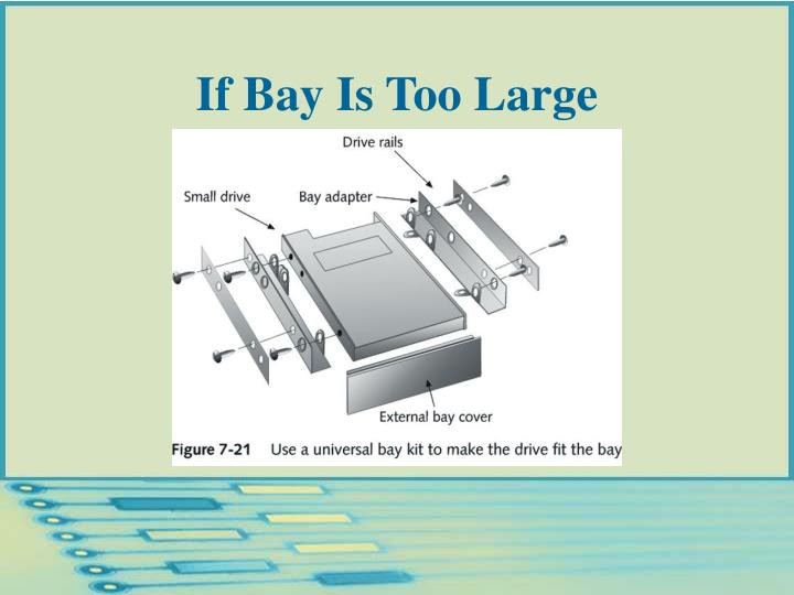 If Bay Is Too Large