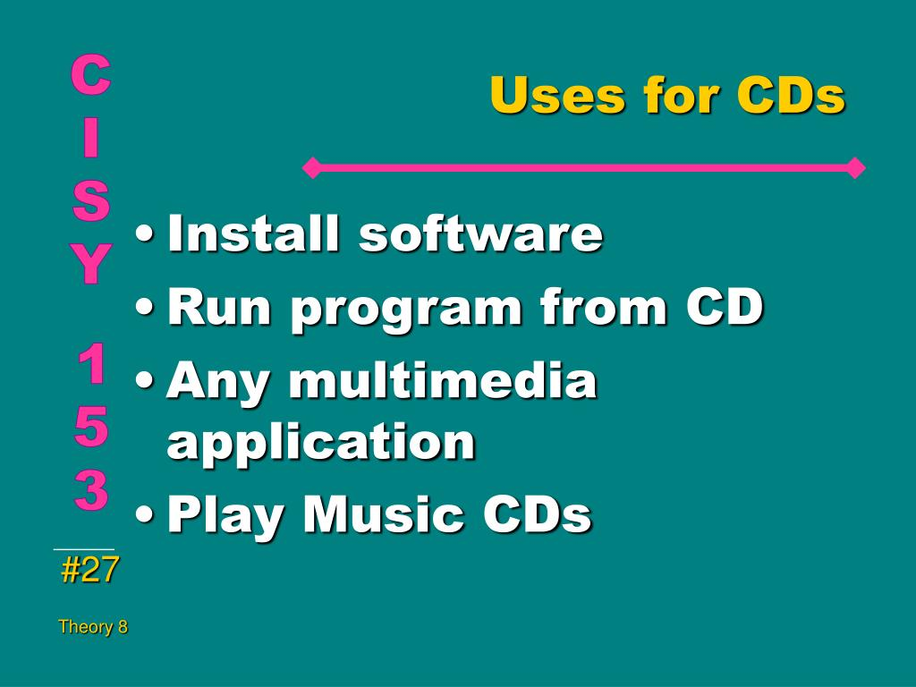 Uses for CDs