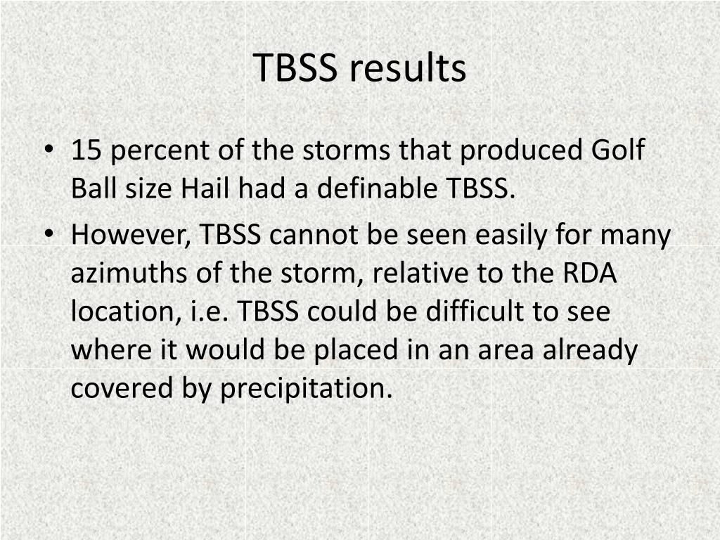 TBSS results