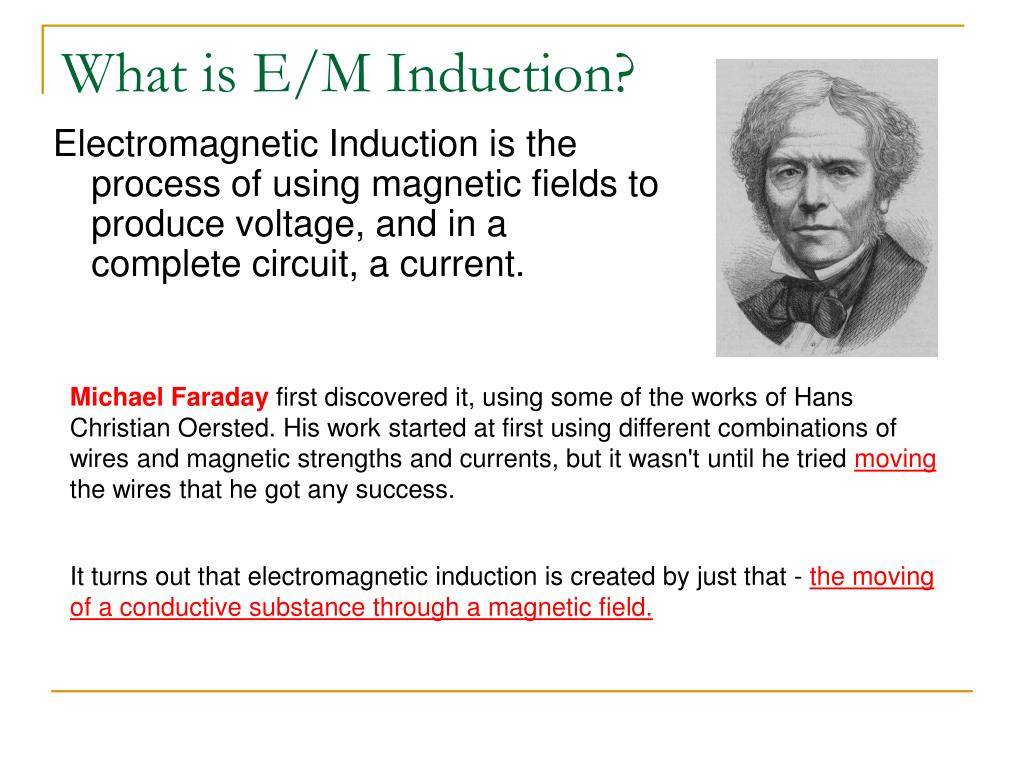 What is E/M Induction?