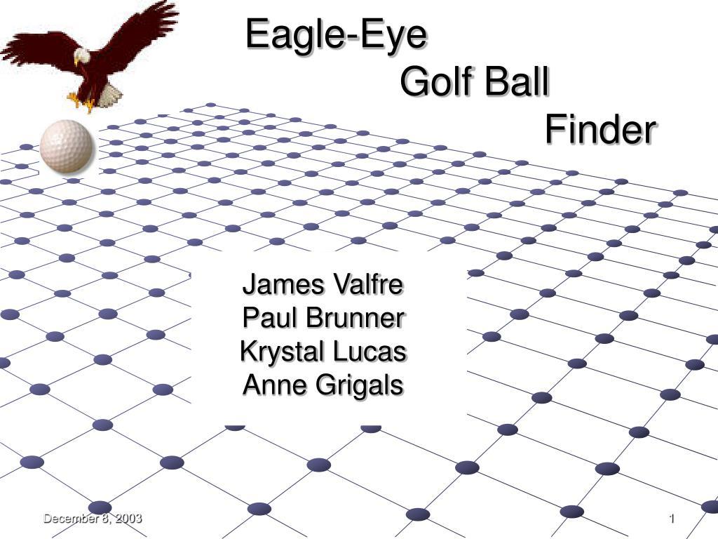 eagle eye golf ball finder l.