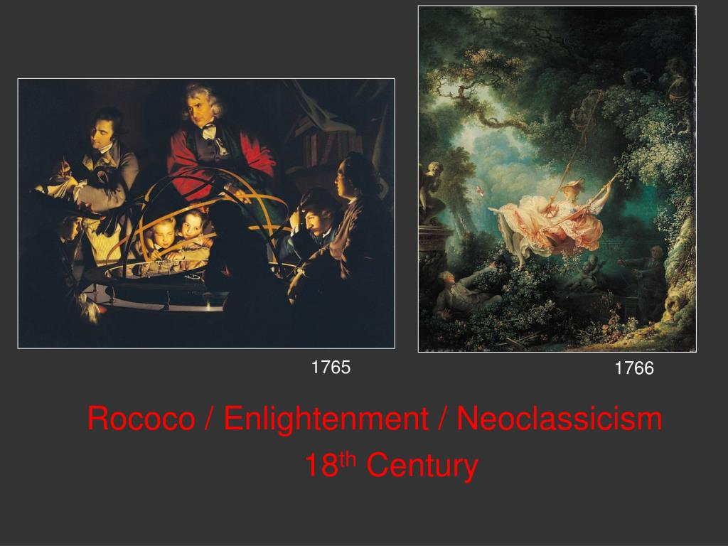 rococo enlightenment neoclassicism 18 th century