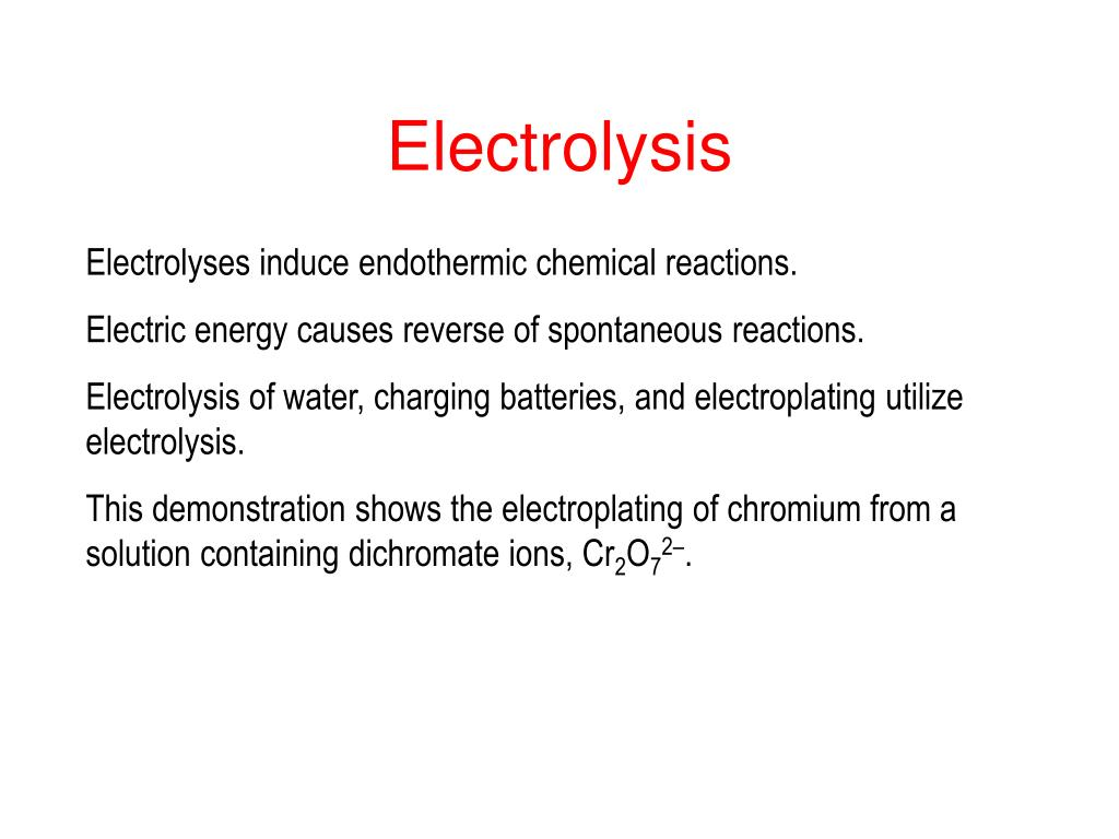 PPT - Simple Electrochemical Cells PowerPoint Presentation