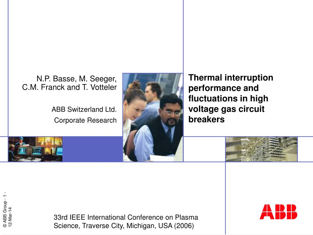 Ppt Thermal Interruption Performance And Fluctuations In High Relay Circuit Breaker Voltage Gas Breakers L