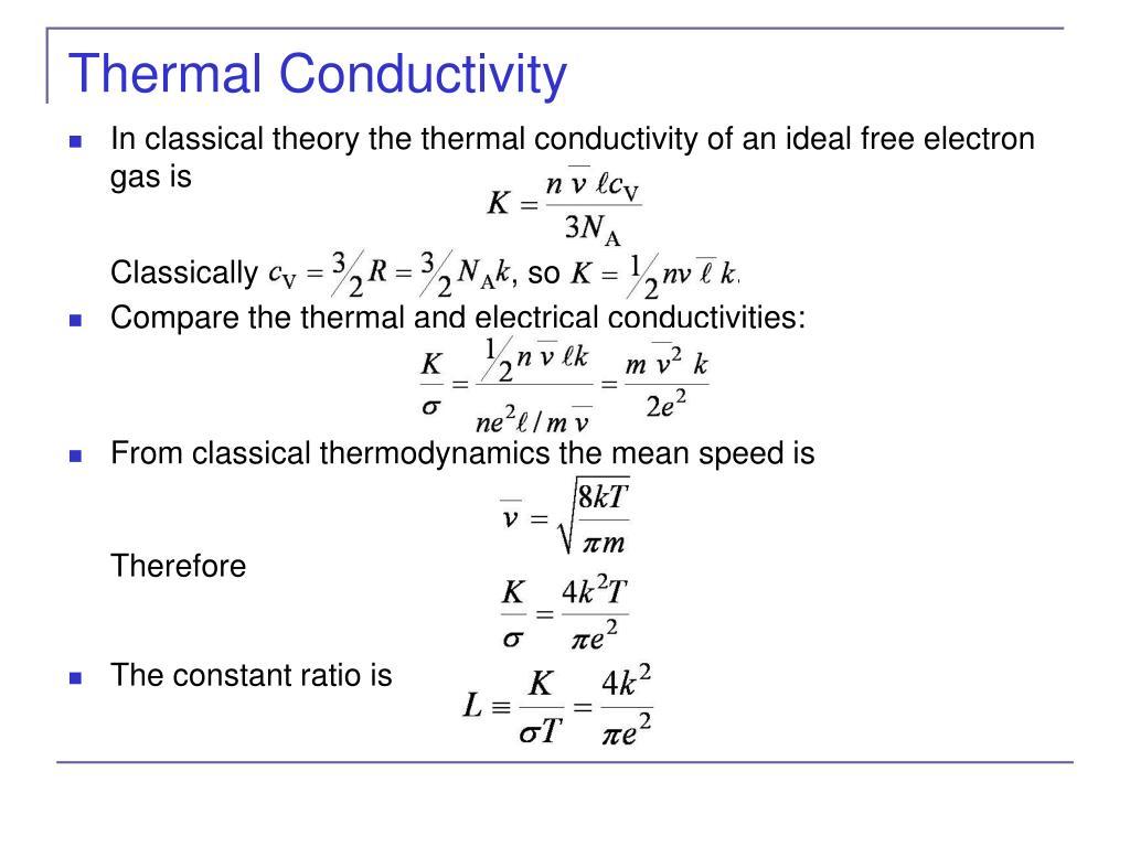 Thermal Conductivity