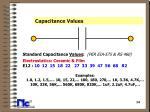 capacitance values14