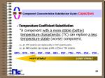 component characteristics substitution guide capacitors24