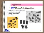 smt electrolytic capacitors