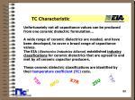 tc characteristic22